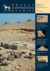 Prague Egyptological Studies XVII/2016 obálka